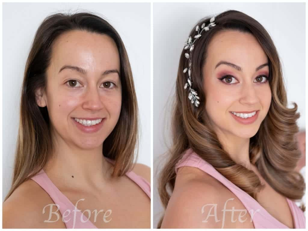 special occasion hair and makeup makeover