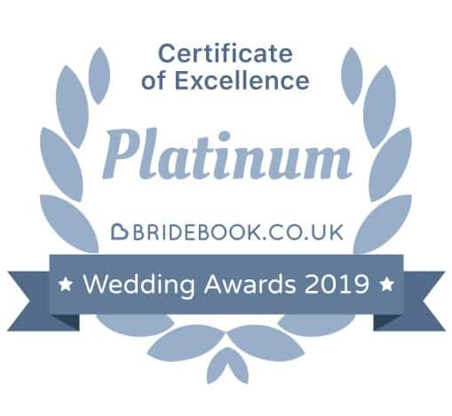 Bridebook award