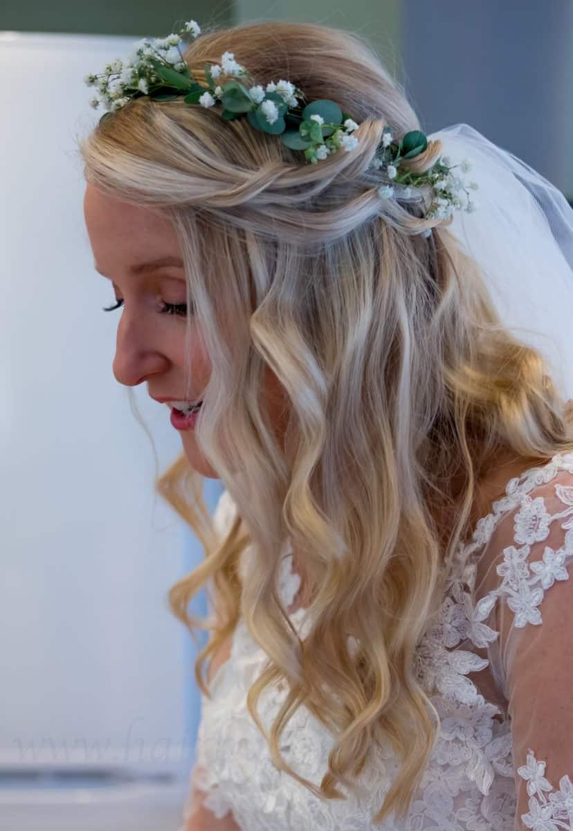 floral wedding accessory